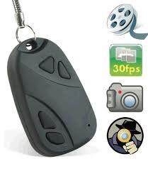 Chaveiro Espião Com Camera / Video 1280x1024 / + Cartão 8gb