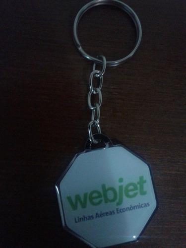 Chaveiro Webjet * Em Metal * Frete Grátis