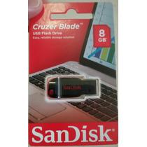 Pen Drive De 8gb Sandisk Kit C/10 Unids.