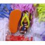 Chinelos Chaveiros P/ Sublimação Com Tecido Kit Com 100 Unid