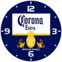 Relógio Parede Decoração Bar Cerveja Corona Tamanho Grande