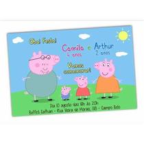 50 Convites, Envelopes, Etiquetas Personalizadas Infantil