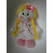 Mini Bonecas De Pano 13 Cm Para Lembrancinhas Ou Decoração.