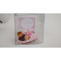 30 Un Lembrancinhas Maternidade Biscuit C/ Cx De Acetato