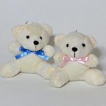 10 Lembrancinhas Chaveiro Ursinho - Urso De Pelúcia 9cm