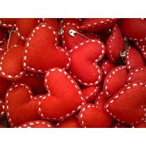 Chaveiro Coração Feltro Lembrancinha Festa Casamento 7cm G