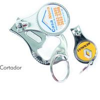 100 Chaveiro Cortador Unha E Abridor Personalizado Sua Logo