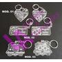 Lembrança Casamento Chaveiro Cristal Personalizado - 50 Un