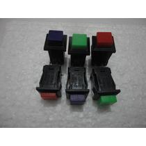 Chave Push Button Com Trava *preço De Unidade*
