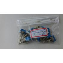 Micro Chave Liga-desliga (pacote Com 10 Unidades)