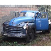 Chevrolet Boca De Sapo Motor 6 Cc Gas 1948