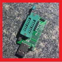 Gravador Eprom Usb Spi Bios Serie 24 25xx Com Auto Detect