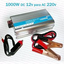 Conversor Inversor Tensão 1000w Transformador Dc 12v Ac 220v