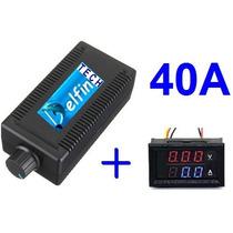 Controlador Velocidade Kit Pwm Dc 12v-50v 40a Hho Hidrogênio