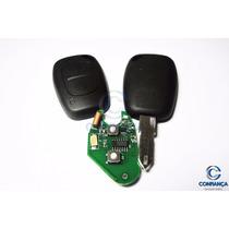 Chave Original Renault Clio Completa Com Telecomando E Chip