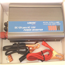 Transformador Inversor Tensão Voltagem 12v 110v - 1000w