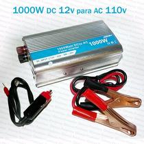 Conversor Inversor Tensão 1000w Transformador Dc 12v Ac 110v