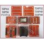 Adaptador Eprom Tl866cs Tl866 Tsop32 40 48 Psop44 +sop56