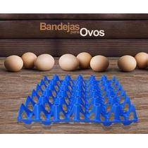 Bandeja Plástica Transporte De Ovos Pc 10 Unidades