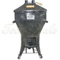 Churrasqueira Gaucha 8 Kg- Gás E A Carvão A Bafo C/ Kit Gás