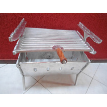 Churrasqueira De Aluminio Desmontavel