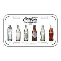 Placa Metal Alto Relevo Coca-cola Evolution - Frete Grátis
