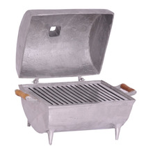 Churrasqueira Alumínio Bafo Extra Grande Maior Do Mercado