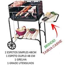 Churrasqueira Pre Moldada Suporte Preço Grill Portátil #qpts