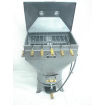 Churrasqueira Gaucha A Gás E A Carvão A Bafo C/ Kit Gás