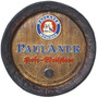 Quadro Tampa De Barril Decorativa Cerveja Paulaner
