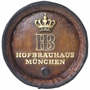 Quadro Tampa De Barril Decorativa Grande Cerveja Hb