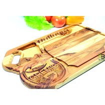 Tabua De Carne Churrasco Personalizada Time Medida 47x30x2cm