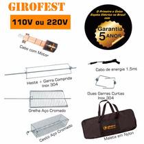 Espeto Giratório Elétrico - Girofest Master Plus