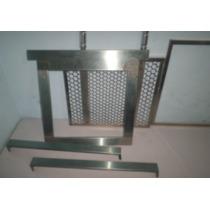 Grelha 47x40-kit Churr Pré Moldada,moldura+gaveta+cb Alumin
