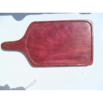 Tabua De Carne Madeira Roxinho 4 Kg 50x30x20 (fp22)