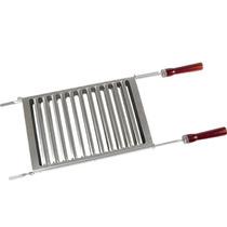 Grelha De Alumínio Para Churrasco Duo 3126 Mor