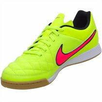 Chuteira Nike Tiempo Gênio Leather Ic Couro