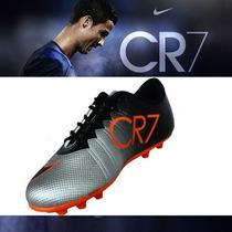 Chuteiras De Campo Nike Mercurial Cr7 Promoção Tenis Novo