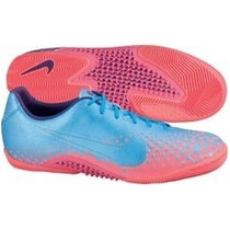 Chuteira Nike 5 Elastico Finale Ic Futsal Azul/rosa #43 Nova