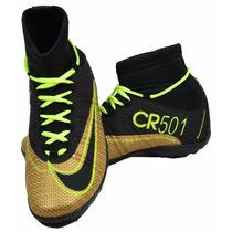 Chuteira Futebol Cano Longo Nike Adidas Mizuno Lotto Penalty