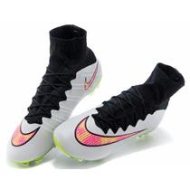 Chuteira Nike Mercurial Superfly - Neymar Messi Cr7 Suarez .