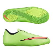 Tênis Nike Mercurial Victory Ic Verde /rosa Lançamento