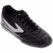 Tênis Futsal Dominator Preto Topper