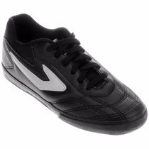 Tenis Futsal Dominator Preto Topper