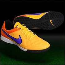 Chuteira Nike Tiempo Genio Leather Tf Original Society Couro
