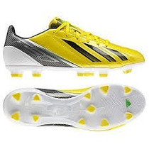 Chuteira Adidas F10 Trx Fg Cravos Amarela Semi Profissional