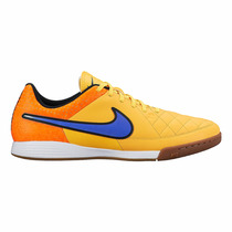 Chuteira Nike Tiempo Genio Couro Leather Ic Futsal Macia