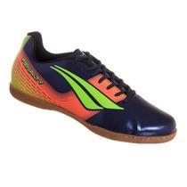 Chuteira De Futsal Penalty Victoria R1 Azul/verde