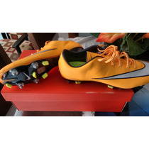 Chuteira Nike Mercurial Trava Mista