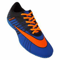 Chuteira Futsal Nike Mercurial Superfly 2 - Roxo E Laranja